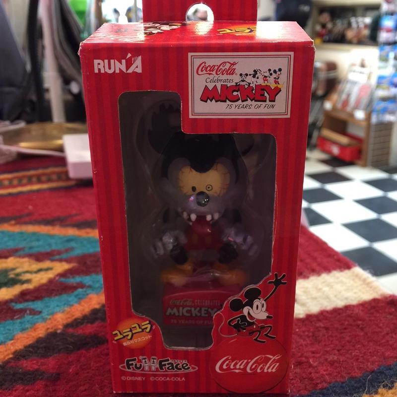 ラナ ユラユラ首振りマスコット ディズニー ミッキーマウス