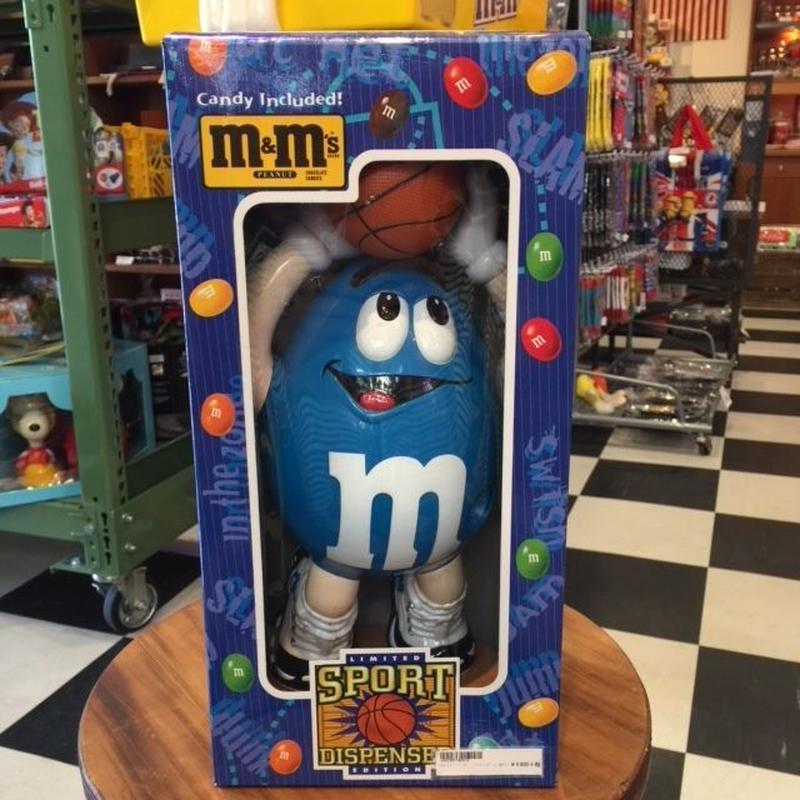 m&m's チョコディスペンサー バスケットボール