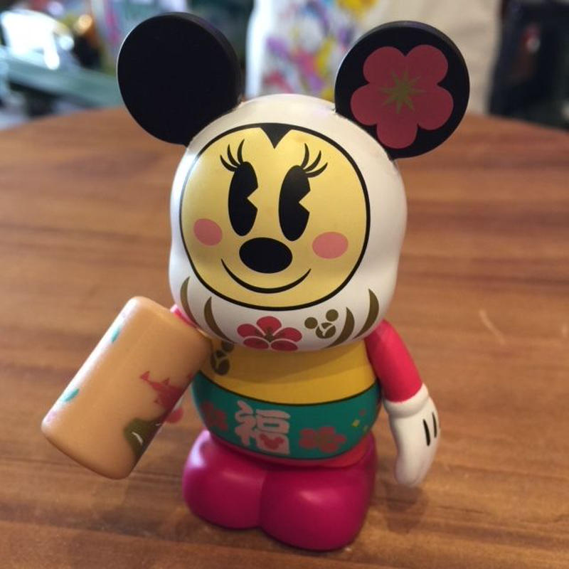 Disney バイナルメーション 2013年 だるまミニーマウス