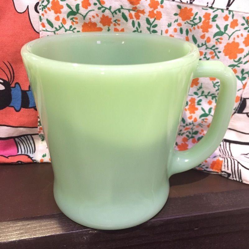 FIRE KING ファイヤーキング  Dハンドル ミルクガラスマグカップ