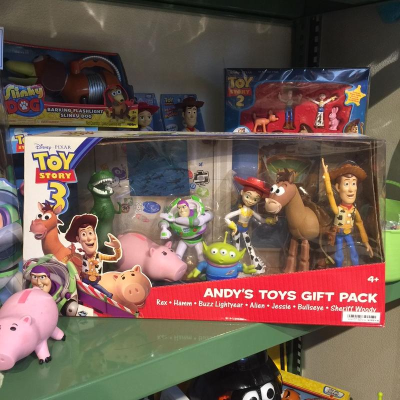 TOY STORY ANDY'S TOYS GIFT PACK