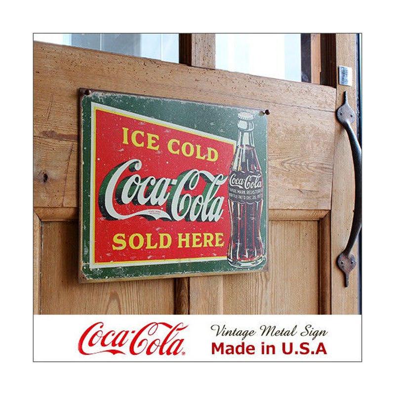 コカ・コーラ Part of Every Day メタル・サイン ブリキ看板 Made in USA/1820