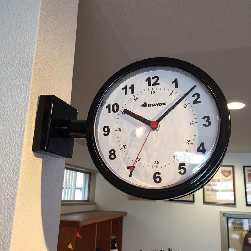 DULTON double face clock