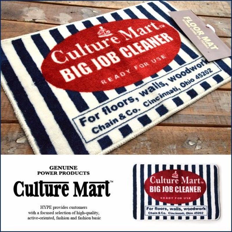 Culture Mart アメリカンフロアマット BIG JOB