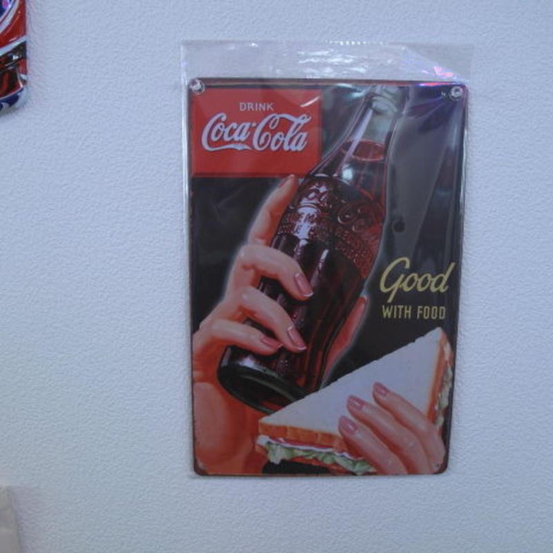コカ・コーラ ミニサインプレート
