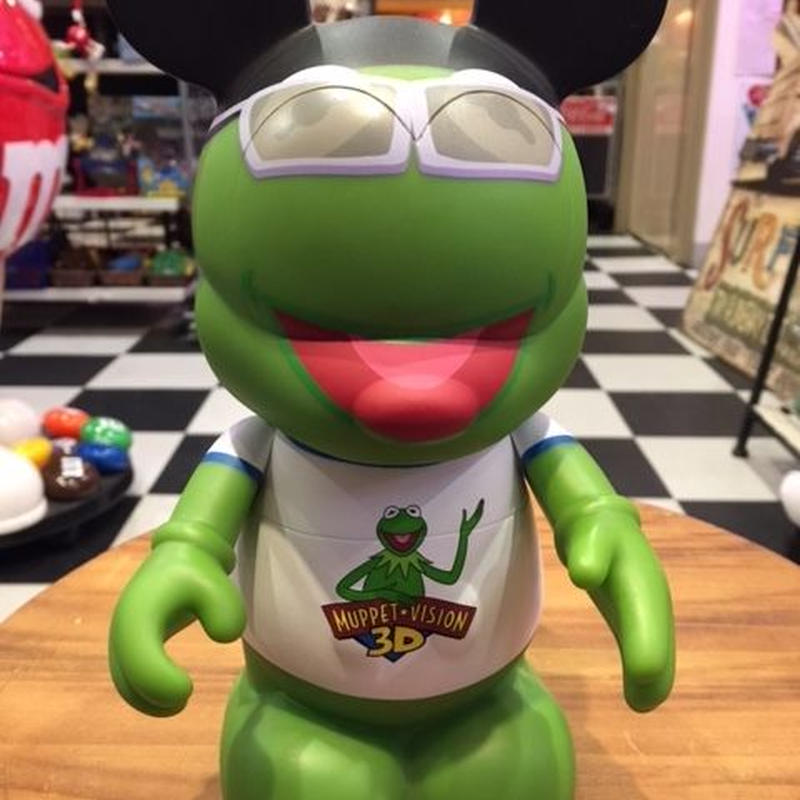 Disney バイナルメーション 美品 9インチ3D パペッツカーミット