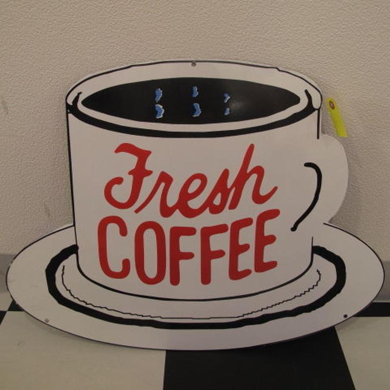ホーローサイン FRESH COFFEE