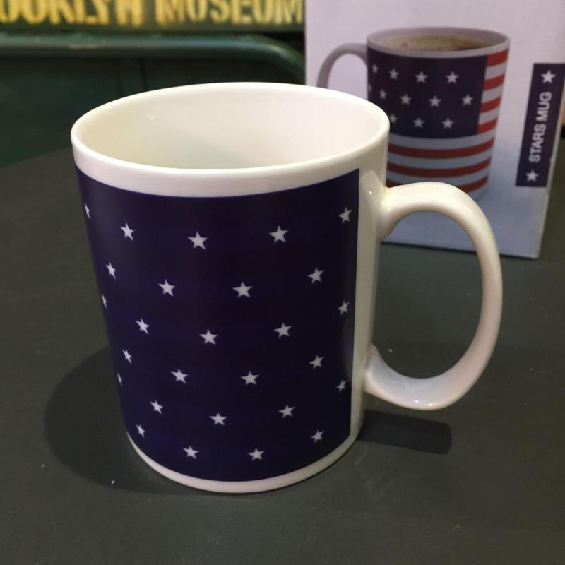 USA STAR MUG アメリカ スターデザイン陶器 マグカップ