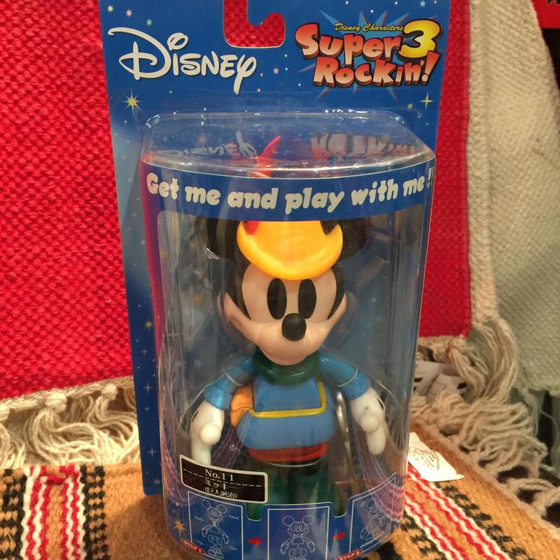 Super Rockin'3 Disneyミッキーボビングヘッド 巨人退治