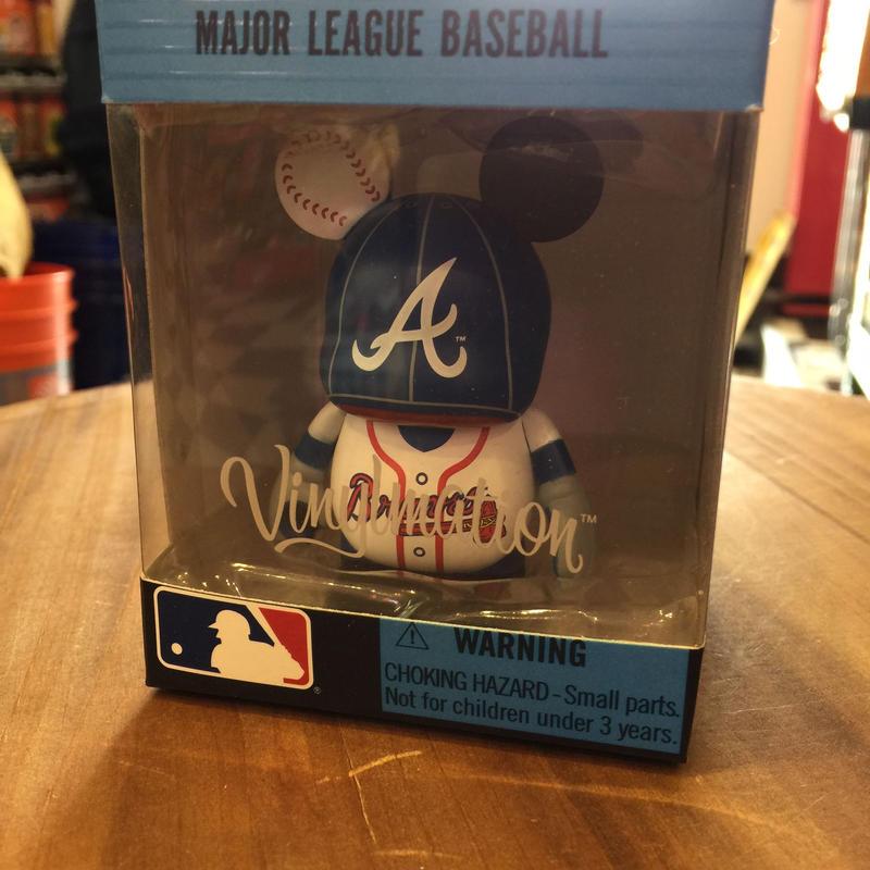 Disney バイナルメーション メジャーリーグ ベースボール ブレーブス