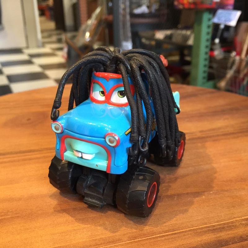 Disney Pixar Cars CARS TOON モンスタートラックメーターデラックス メガサイズ 「ラスタ メーター」