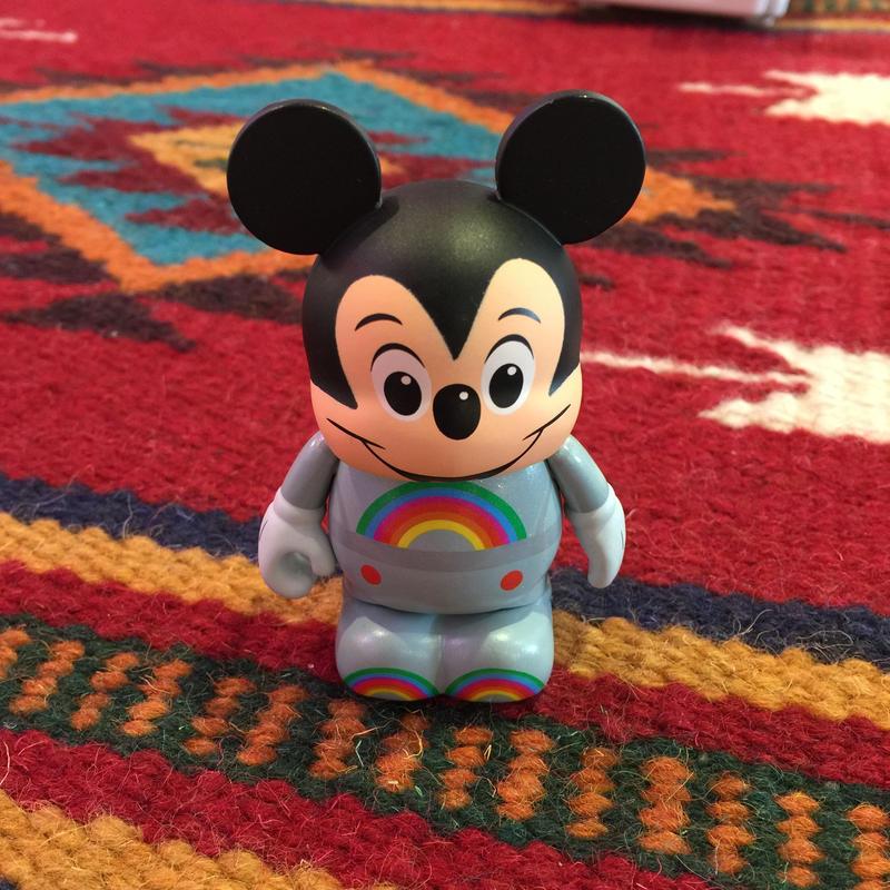 Disney バイナルメーション ANIMATION SERIES 2 ディズニーミッキーマウス レインボー Vinylmation