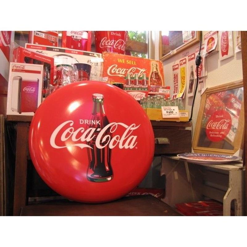 コカ コーラ サインボード Disk Icon Plate 45cm