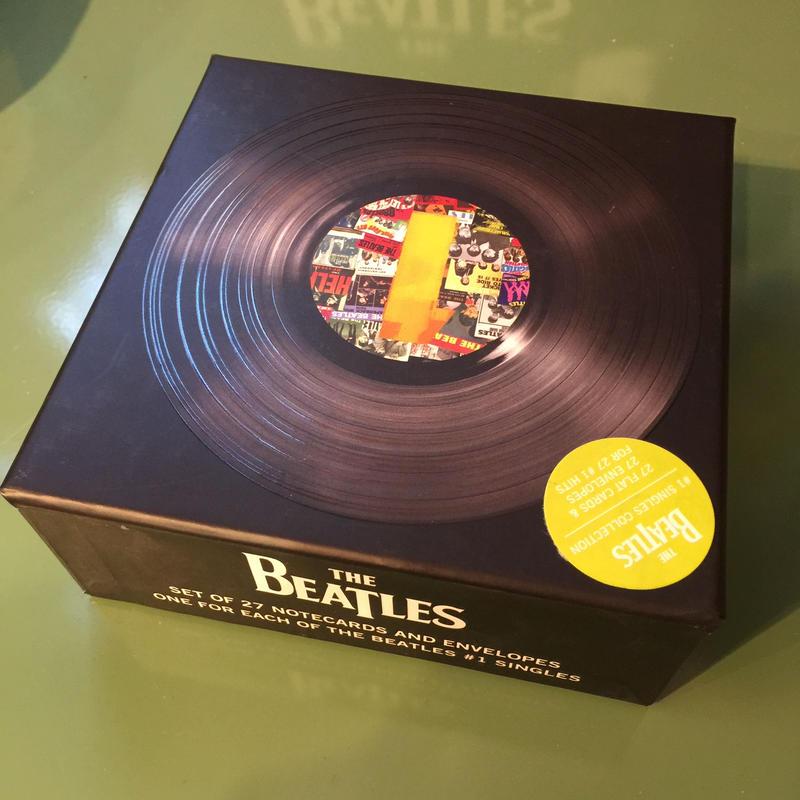 THE BEATLES シングルス カード ビートルズ