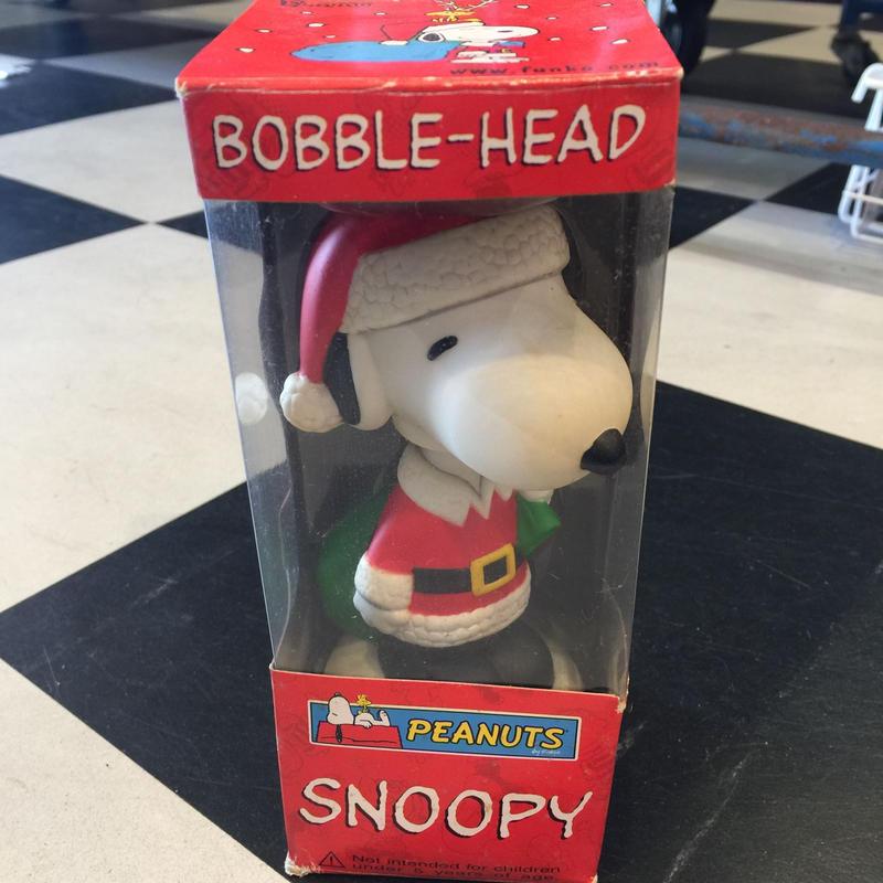 ファンコ ピーナッツ スヌーピー ボビングヘッド クリスマス