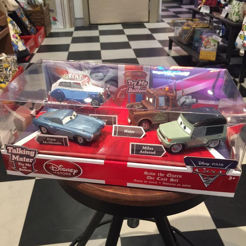 ディズニーカーズ Disney Cars2 英国ダイキャストセット トーキング メーター