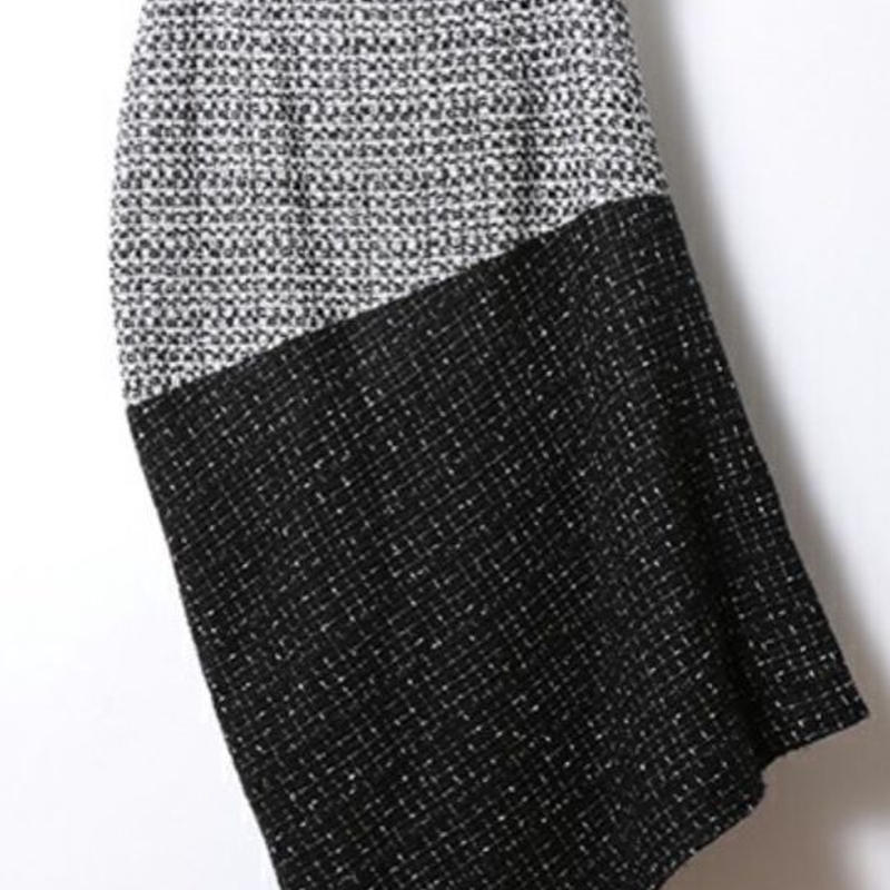 NOISE SILHOUETT SKIRT