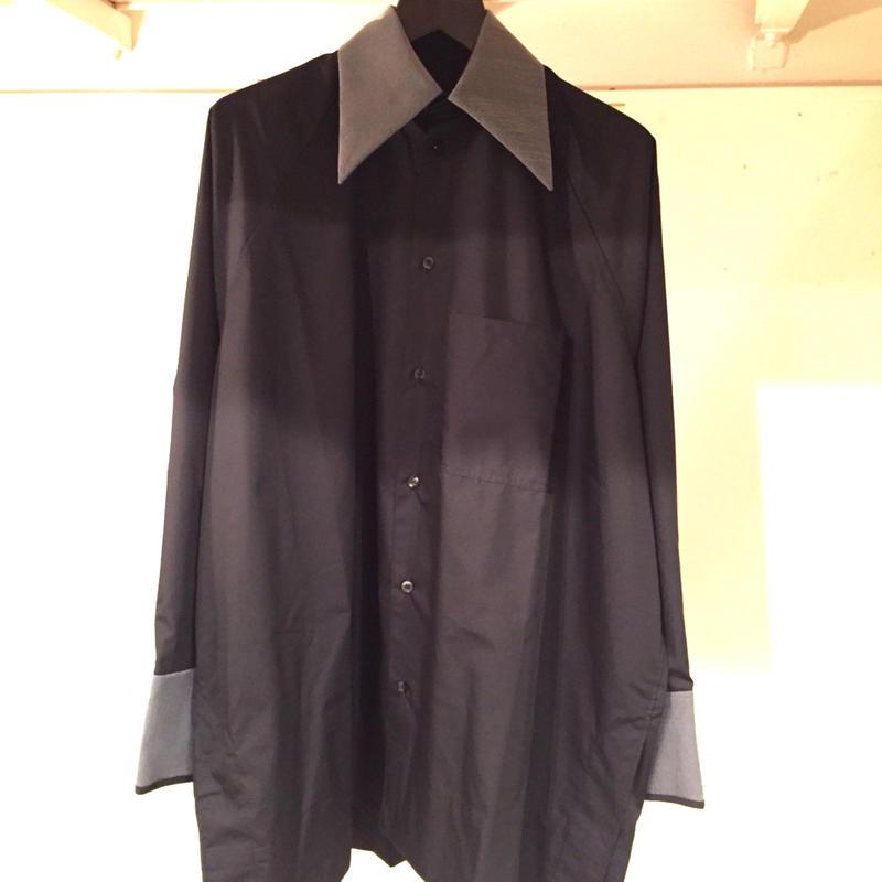 BALMUNGジップカフスビックシャツ