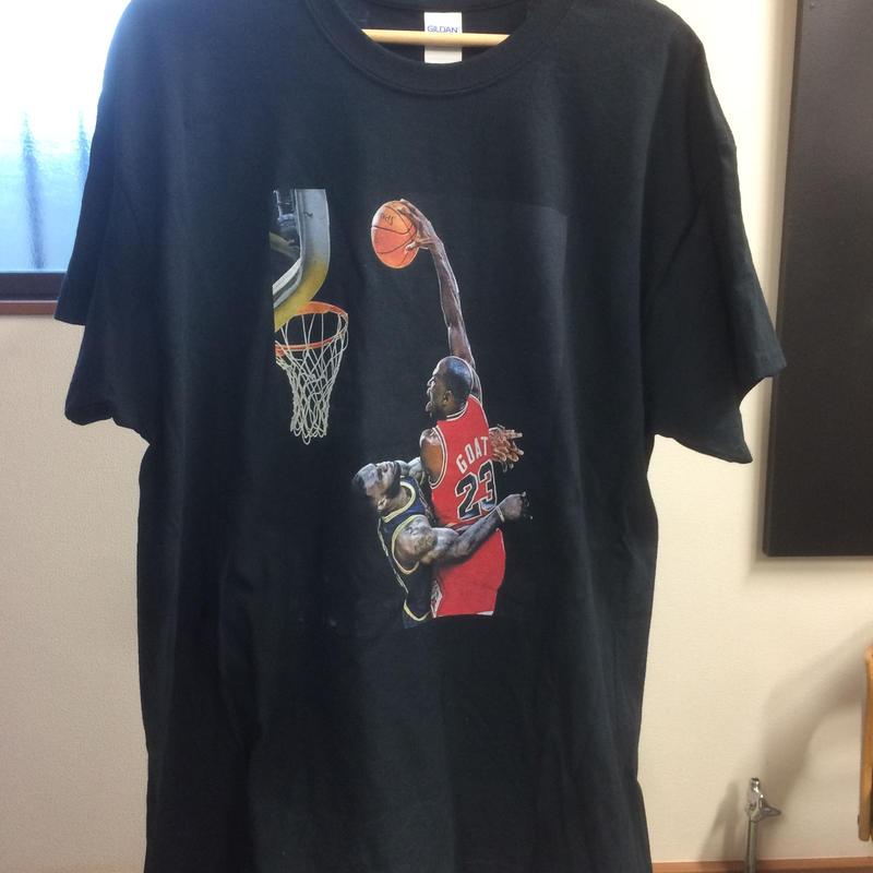 ジョーダン ダンク オーバー レブロン コットン T-シャツ  全3色