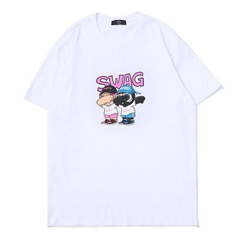 SWAG 白 Tシャツ