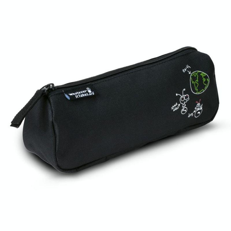 WIT Round Pencil Case / artwork donated by Moby (ラウンドペンケース)