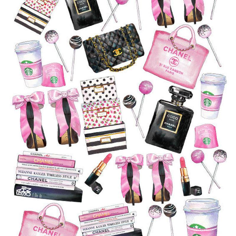 オーブンポーセ pink black  cc