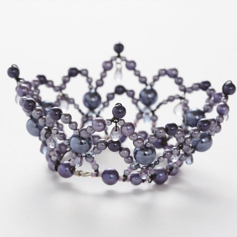 Purple Pearl Crown