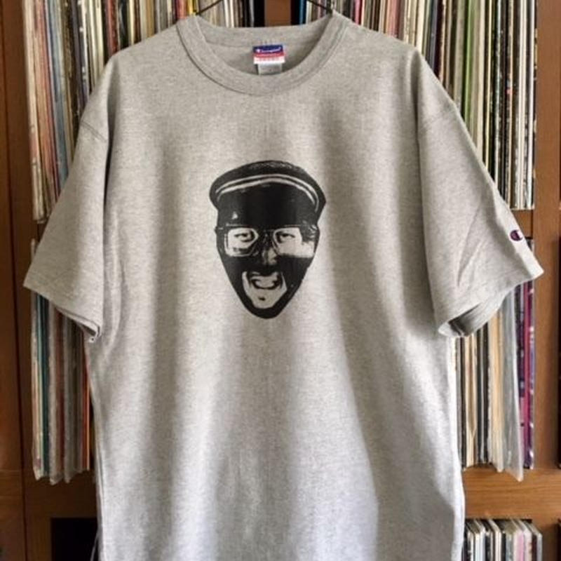 """""""Repricant Compuma"""" T-shirt(グレー)ステッカー付き!!! SOMETHING ABOUT 2018"""