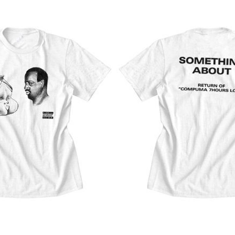 アダルト徳利Tシャツ(白)Mサイズ SOMETHING ABOUT 2013