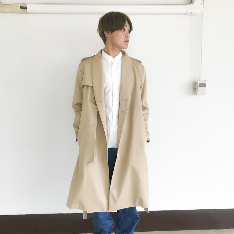 KONYA / Hollowed Coat  /  beige