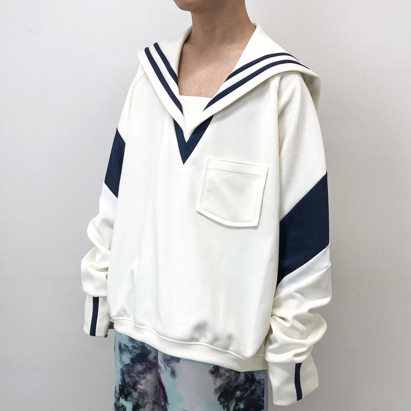 BALMUNG / ビッグセーラージャージ / 白