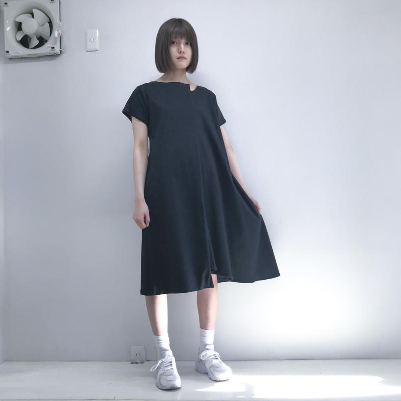 SHUTTLE/ bump one-piece /black