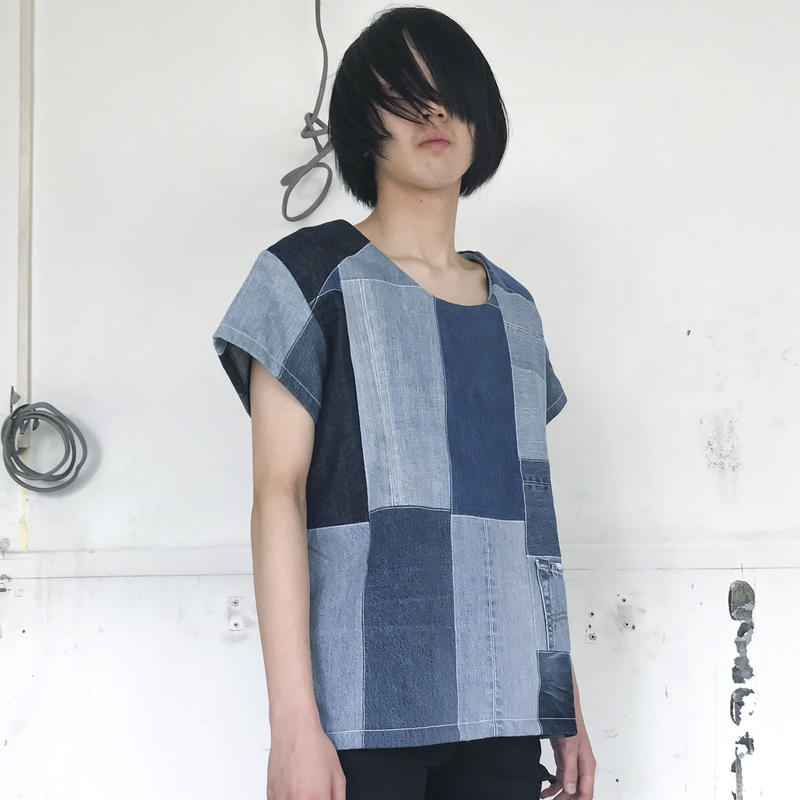 TAKAYA HIOKI / ヴィンテージ デニム T