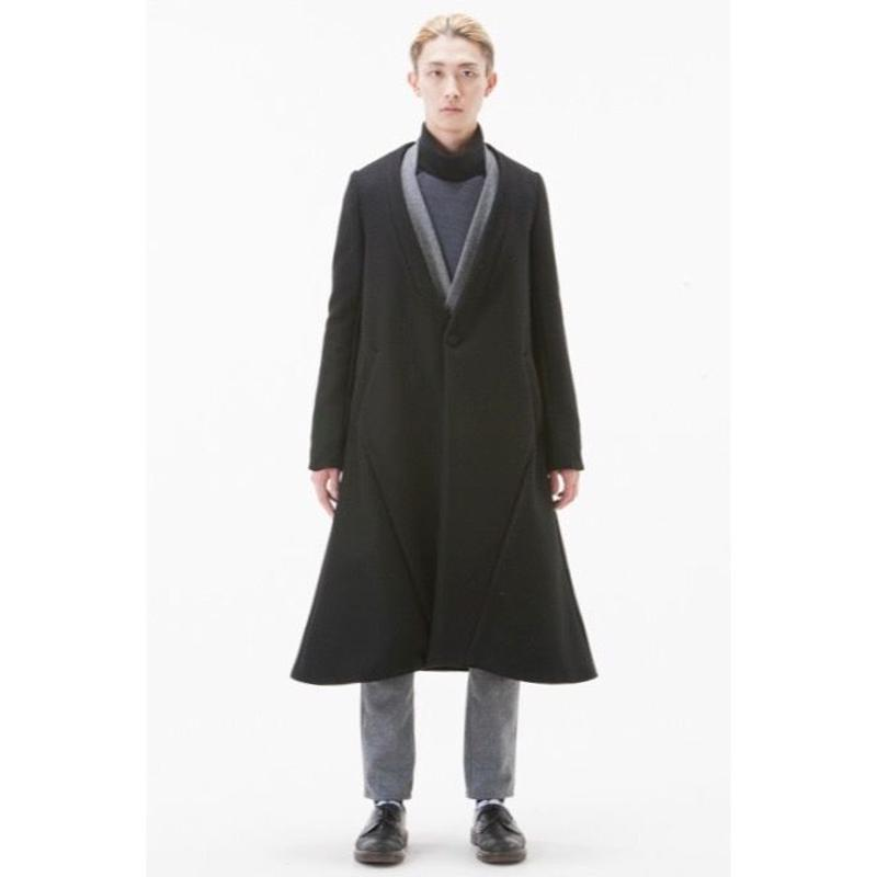 NICK NEEDLES LONG COAT / BLACK