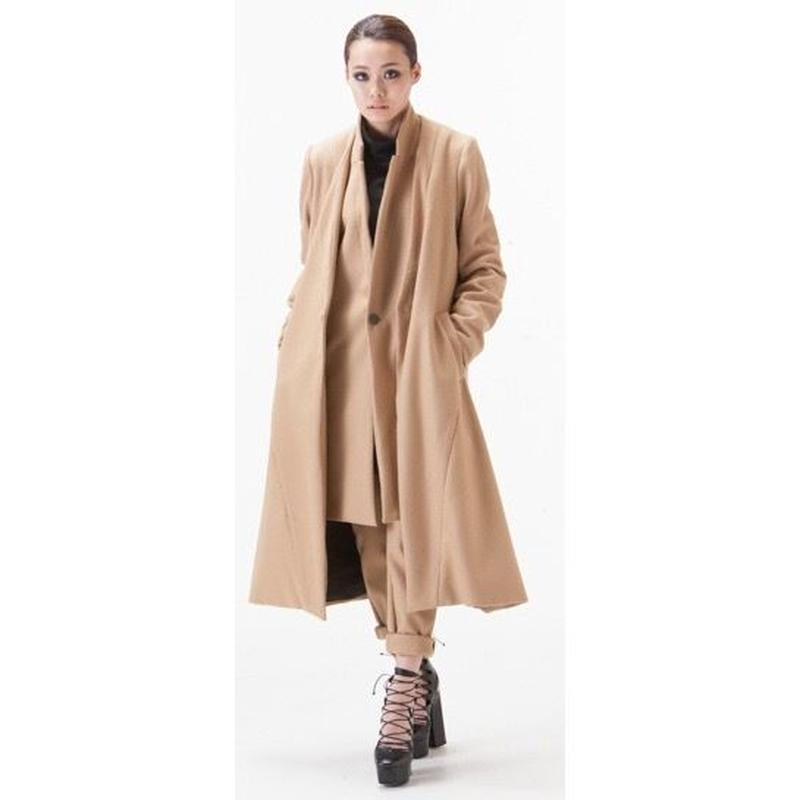NICK NEEDLES LONG COAT CAMEL