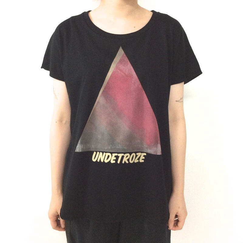 undetroze TRIANGLE T BLACK size Free