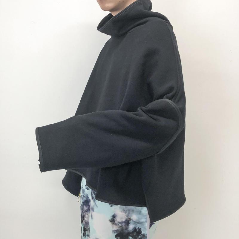 BALMUNG / ジップスリーブスウェット / 黒