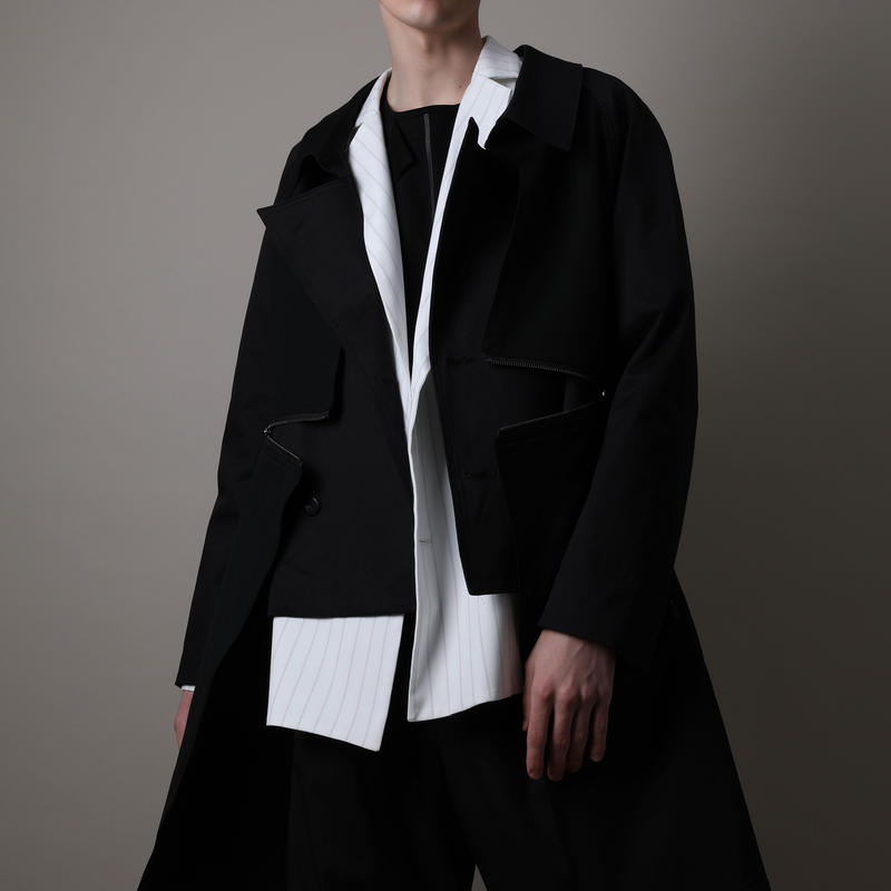 KONYA / ZIP TRENCH & COAT