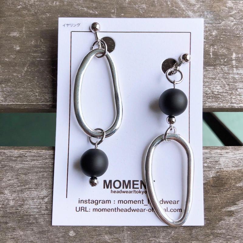 MOMENT headwear / earring  2