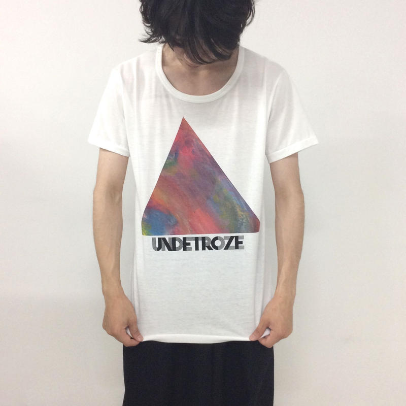 undetroze TRIANGLE T WHITE SIZE 3