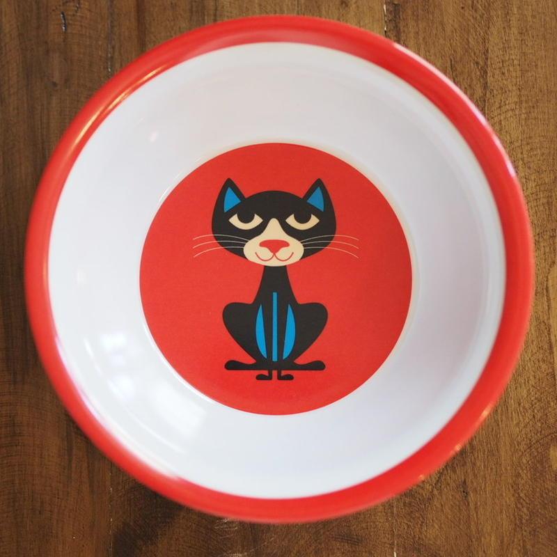 メラミンボウル cat