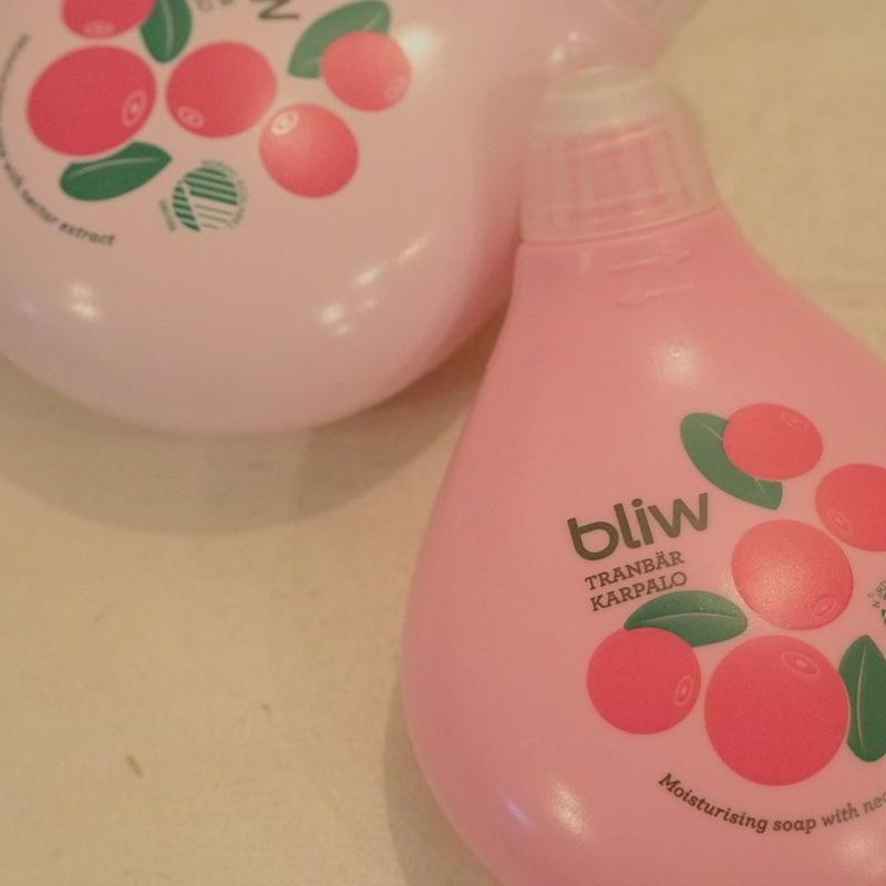 bliw hand soap クランベリー