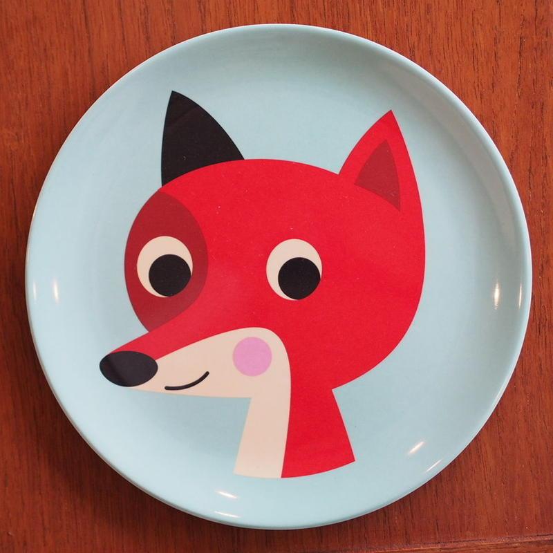 メラミンプレート fox