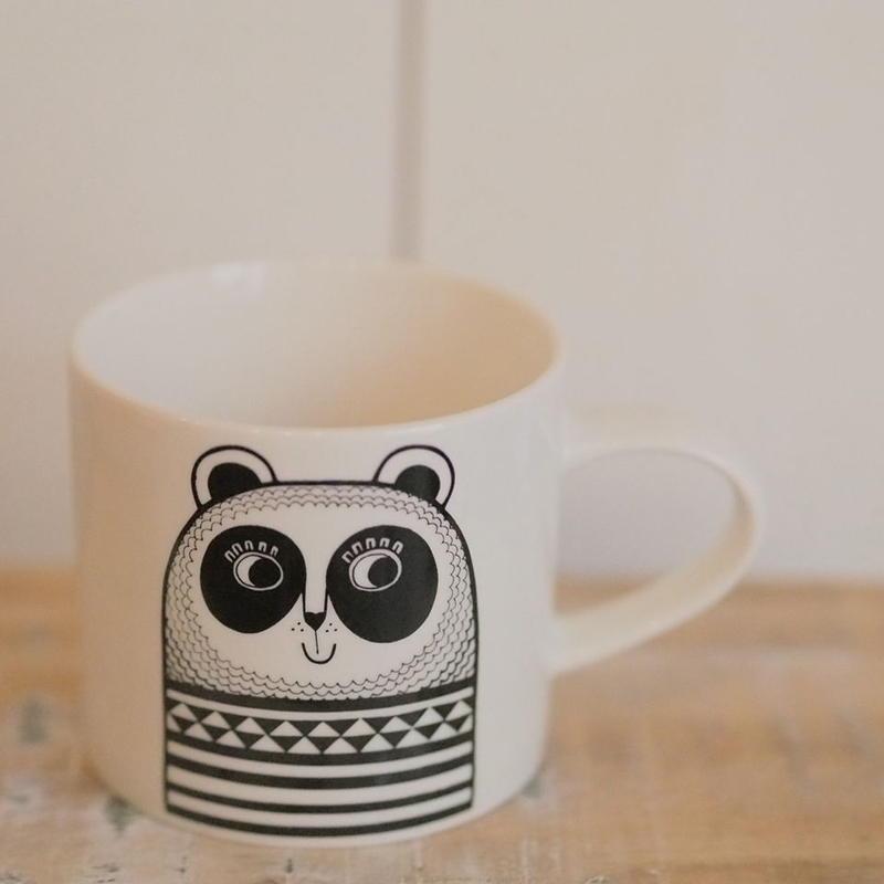 mini mug panda