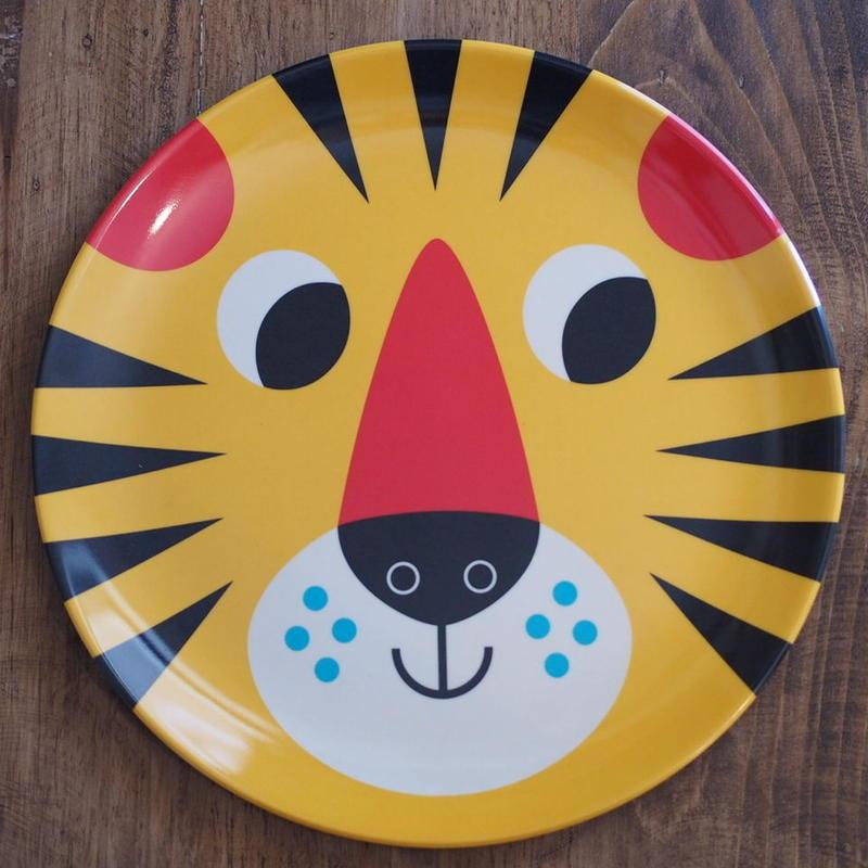 メラミンプレート tiger