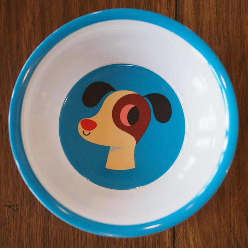 メラミンボウル dog