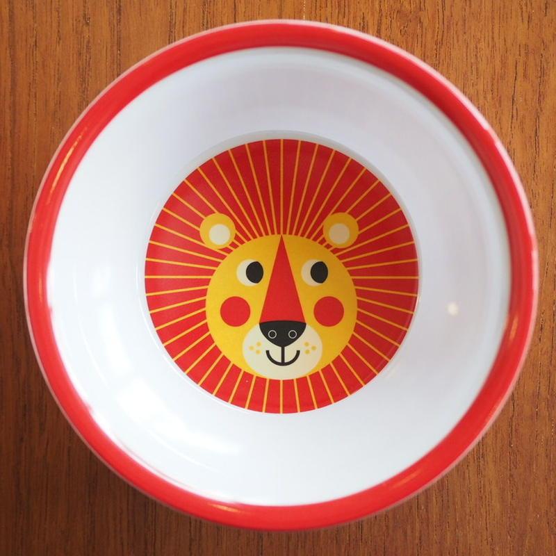 メラミンボウル lion