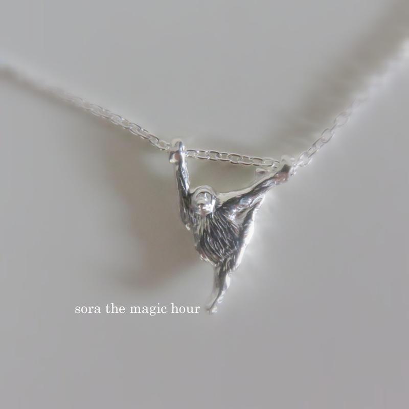 オランウータンのネックレス orangutans silver 925  Y