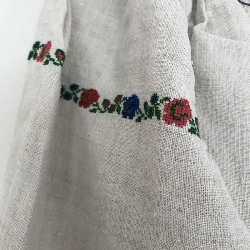 Vyshyvanka homespun vintage dress #2