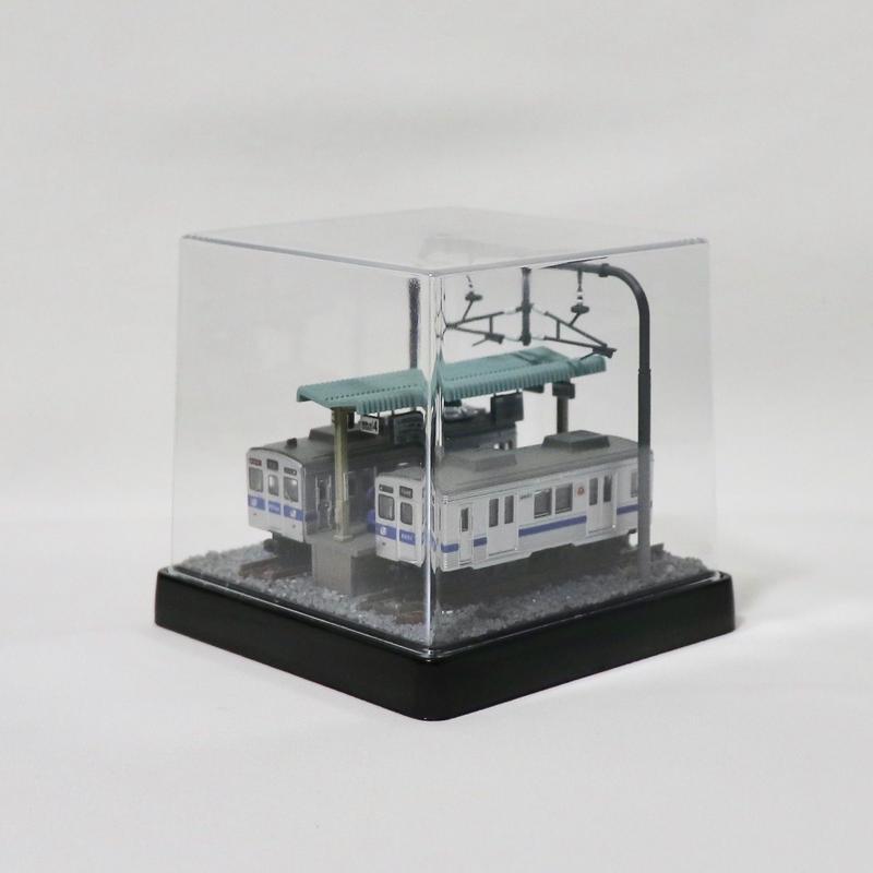Bトレ・ベース_10(東急8500系 2両付き)